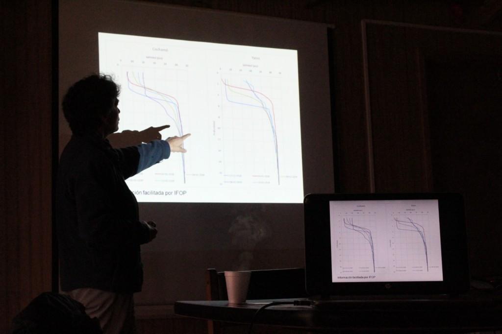 Mitilicultores de Cochamó conocieron resultado de dos informes elaborados por el Cetmis