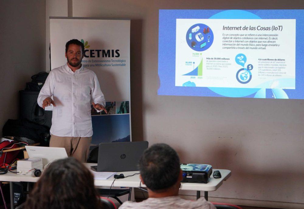 Cetmis: Mitilicultores conocieron sobre nuevas tecnologías aplicadas a la producción de choritos